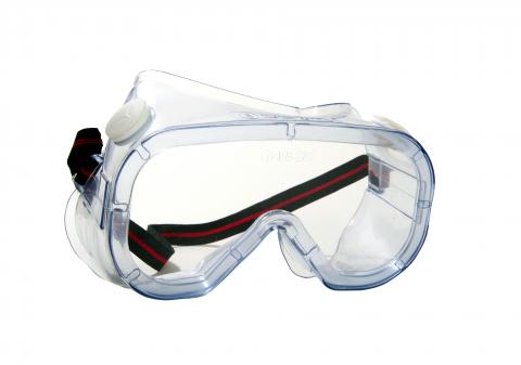 ANTIFOG MASK GOGGLES WITH VENTILATION VALVE